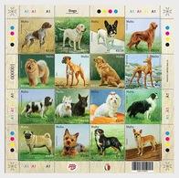 Malta 2018 - Dogs - Miniature Sheet Mnh - Malta