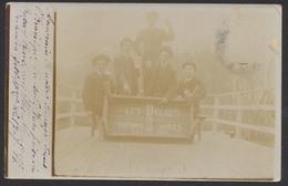Carte Photo Non Située : Les Belges à Buenos Aires (Argentine) 15/7/1911 + écritures. - Cartes Postales