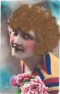 CPA Fantaisies - Fantaisie Femme, Vrais Cheveux En Ajouti - Fancy Cards