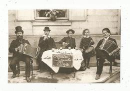Photographie Issue D'un Journal,papier Glacé ,17x11.5, Musiciens,musique,orchestre Létanche Paris,1910 , Frais Fr 1.55 E - Vieux Papiers