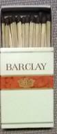 Barclay - Boites D'allumettes