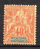 Col11  Nouvelle Caledonie  N° 50 Neuf X MH Cote 30,00 Euros - Neufs