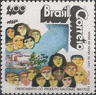 BRAZIL - GROWTH OF GROSS NATIONAL PRODUCT (2,00 Cr$) 1972  - MNH - Brazil