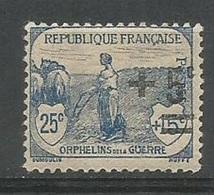 1922 - N° 165 * (MH) - France