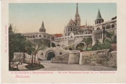 Budapest Die Neue Monumental Stiege Bei Der Mathiaskirche (LOT A7) - Hongrie