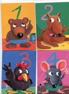 Chiffres Animaux Habillés Antoon Krings - Dressed Animals