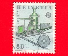 SVIZZERA - Usato - 1983 - Europa - Ferrovia A Cremagliera Dell'ingegnere Niklaus Riggenbach (1817-99) - 80 - Usati