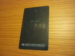 South Korea Seoul Hilton Seven Luck Hotel & Casino Room Key Card - Hotel Keycards