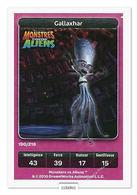 TCG - DREAMWORKS CARREFOUR - 190 - Monstres Contre Aliens - Gallaxhar - Disney