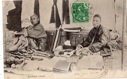 VIET-NAM HANOI MARCHANDS CHINOIS (CARTE PRECURSEUR ) - Viêt-Nam