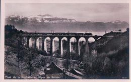 La Conversion, Train Sur Le Viaduc De Rochettaz, Chemin De Fer Lausanne – Bern (76) - VD Vaud