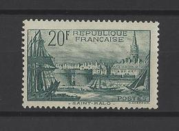 FRANCE  YT  N° 394   Neuf **  1938 - France