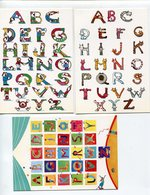 Alphabet  P. Mead Catherine Anglade - Fancy Cards