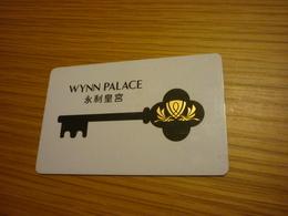 Macao Macau Cotai Wynn Palace Hotel & Casino Room Key Card - Hotel Keycards