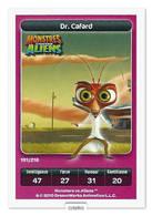 TCG - DREAMWORKS CARREFOUR - 191 - Monstres Contre Aliens - Dr Cafard - Disney
