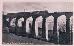 La Conversion, Train Sur Le Viaduc De Rochettaz, Chemin De Fer Lausanne – Bern (77) - VD Vaud