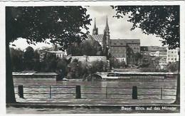 CPA Suisse Bâle Ville * Basel, Blick Auf Das Münster * - BS Bâle-Ville