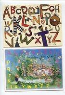 Alphabet  Buchanan Et Les Chats Pelés - Fancy Cards