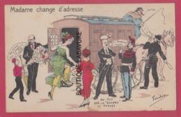 ILLUSTRATEUR---FERCHAM----Madame Change D'Adresse---Meurtre Du Directeur Du Figaro... - Evènements