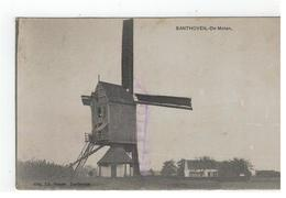 Zandhoven  SANTHOVEN,- De Molen Uitg,Ed.Masen Santhoven (blauw Potloodstreep Zie Scan) - Zandhoven