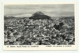 ATHENES - VUE PARTIELLE ET LYCABETTE VIAGGIATA FP - Grecia