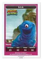 TCG - DREAMWORKS CARREFOUR - 192 - Monstres Contre Aliens - B.O.B. - Disney