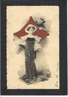 CPA Jeu De Cartes Carte à Jouer Playing Cards Circulé Papier à La Forme RARE Diable Krampus - Cartes à Jouer