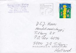 Germany Deutschland Slogan Flamme 'Frankiermaschine €' BRIEFZENTRUM 2000 Cover Brief TILBURG Netherlands Europa CEPT - [7] West-Duitsland