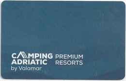 CROAZIA KEY HOTEL  Camping Adriatic By Valamar - Premium Resorts - Hotel Keycards