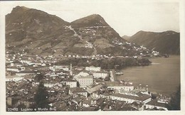 CPA Suisse Tessin * Lugano E Monte Bré * - TI Tessin