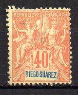 Col11  Diego Suarez  N° 47 Oblitéré Cote 7,00 Euros - Diego-suarez (1890-1898)