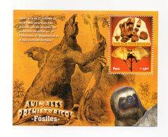 Perù - Foglietto Tematica Animali Preistorici - 1 Valore - Nuovo - Nr. 04525 - Vedi Foto - (FDC13781) - Francobolli