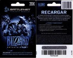TARJETA REGALO DE ESPAÑA, GIFT CARD. BLIZZARD. 069. - Cartes Cadeaux