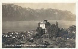 CPA Suisse Vaud * Château Du Châtelard Et Vue De Clarens * - VD Vaud