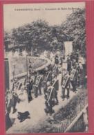 27 - VANNECROCQ----Procession Du Saint Sacrement---animé - Francia