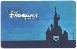 FRANCIA  KEY HOTEL Disneyland Paris - Disneyland Hotel - Hotel Keycards