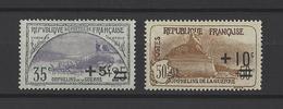 FRANCE  YT  N° 166 Et 167  Neuf **  1922 - France
