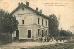 02* MONT NOTRE DAME Gare                   MA84,0144 - Non Classés
