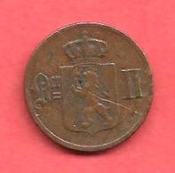 1 Ore , NORVEGE , Bronze , 1899 , N° KM # 352 - Norvège