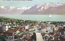 CPA Suisse Vaud * Lausanne, Vue Du Haut Lac Depuis La Cathédrale * - VD Vaud
