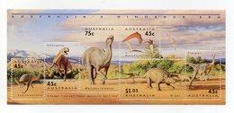 Australia - 1993 - Foglietto Tematica Animali Preistorici - 6 Valori - Nuovo - Vedi Foto - (FDC13782) - Francobolli