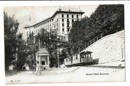 CPA - Carte Postale -Suisse - Schwyz - Brunnen - Grand Hotel-1909-  S4989 - SZ Schwyz