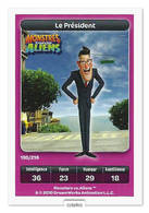 TCG - DREAMWORKS CARREFOUR - 195 - Monstres Contre Aliens - Le Président - Disney