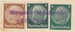 """RARITY.  GERMANY DEUTSCHES REICH MARK. PURPLE. """" Strzegowo ( Südostpreussen) / 28 Feb.1940 """" POSTCARD TO ZAGREB YUGOSLAV - Stamps"""