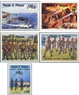 Ref. 179411 * MNH * - MALDIVES. 1985. SERVICIO NACIONAL DE SEGURIDAD - Maldives (1965-...)