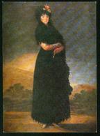 AKx Malerei - Louvre Paris - Francisco Goya, Junge Spanische Frau - Museum