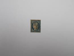 TIMBRE OBLITERE 20 C BLEU - 1849-1850 Cérès