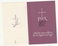 Dp. Hubert KRISTUS Opoeteren 1893 Priester Luik Ougrée Aubel Molenbeersel Klein Gelmen 1965 - Devotion Images