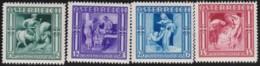 Osterreich      .   Yvert   .    485/488     .    **      .    Postfrisch    .   /  .     MNH - 1918-1945 1. Republik