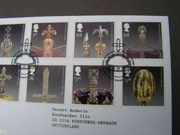 GB FDC 2011 Crown Kronjuwelen 3126.3133  €  15,50 - FDC